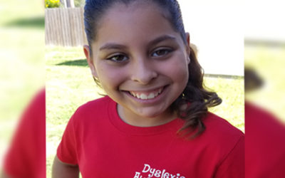 Madison Tapia, 6th Grade student at Flour Bluff Intermediate advocated for a day to raise awareness of dyslexia in Flour Bluff ISD.